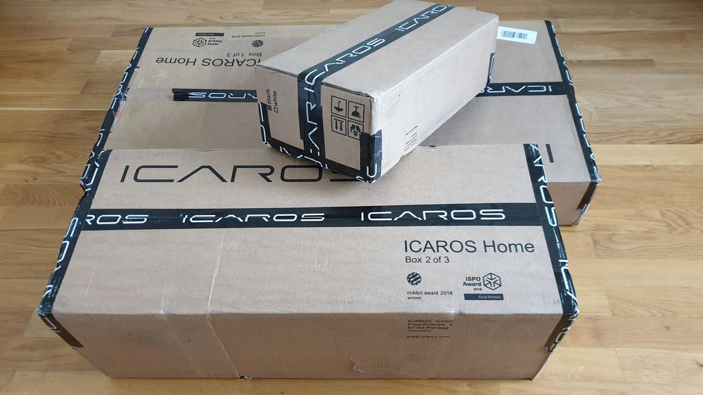 Verpacktes Icaros Home System