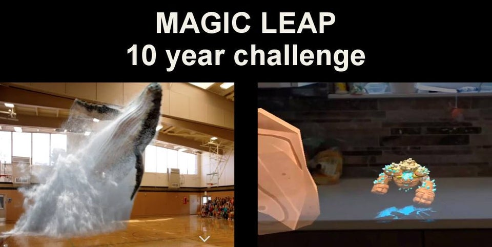 | Magic Leap 10 Year Challenge