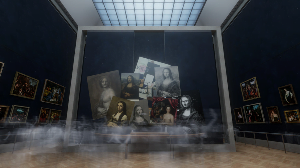 Mona Lisa Beyond the Glass VR 3