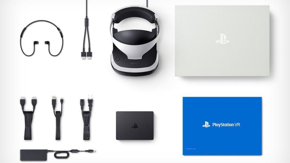 PlayStation VR Lieferumfang