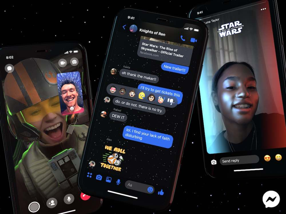 Rise of Skywalker Facebook AR Filter
