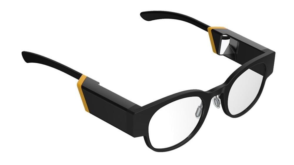 Könnte eine Lichtfeld-AR-Brille so schlank gebaut werden - und das bei einer überlegenen Darstellungsqualität? Bild: Creal