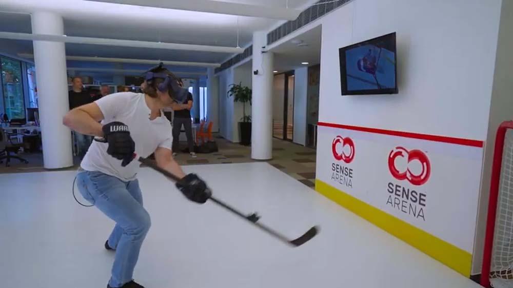 VR-Training: Eishockey-Profis sollen mit VR-Brille trainieren