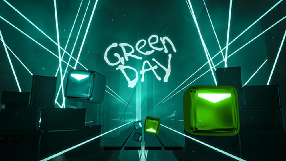 Beat Saber: Green Day Songpaket, neue 360- und PSVR-Level