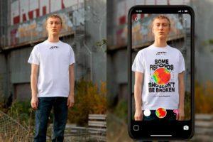 Der skandinavische Modehändler Carlings nimmt ein Augmented-Reality-Shirt ins Portfolio auf.