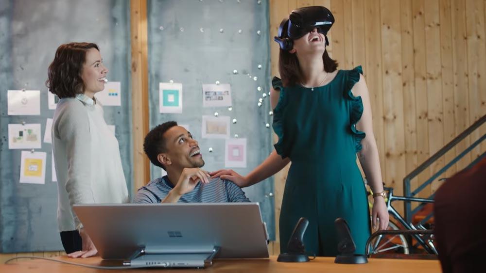 Mit Sharepoint Spaces will Microsoft mehr VR und AR ins Daten-Sharing von Unternehmen bringen.