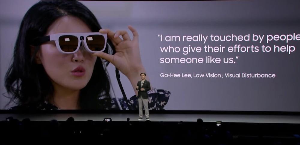 CES 2020 Samsung AR-Brille 2