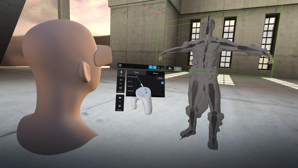 Leichter und schneller modellieren und animieren dank dem 3D-VR-Programm Masterpiece Studio.