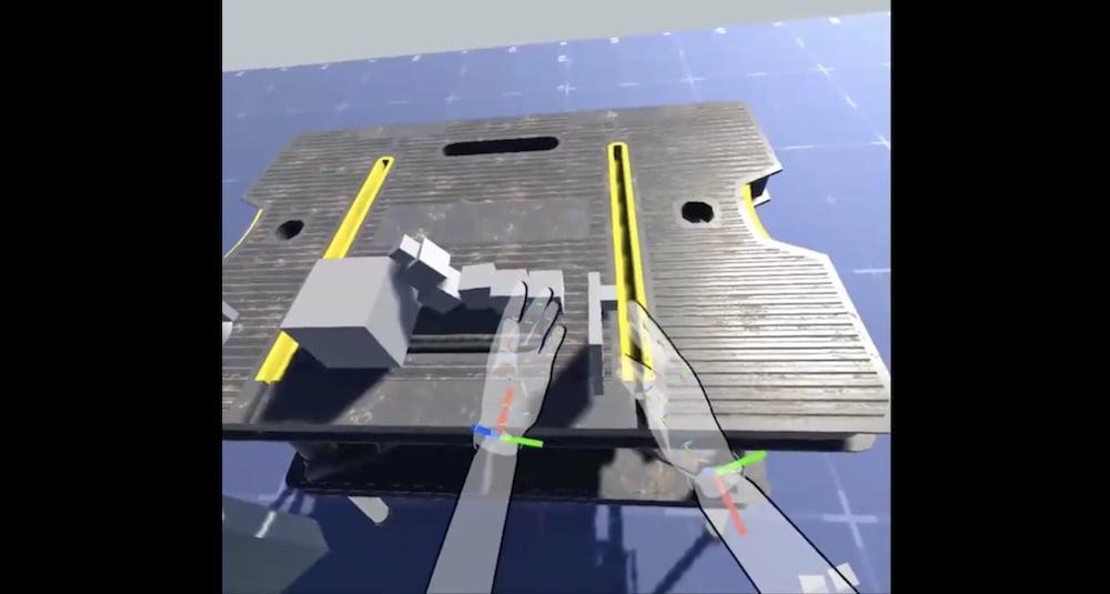 Ein Schweizer Entwickler schuf eine Handtracking-Demo, die komplexe Physik und Arme simuliert.