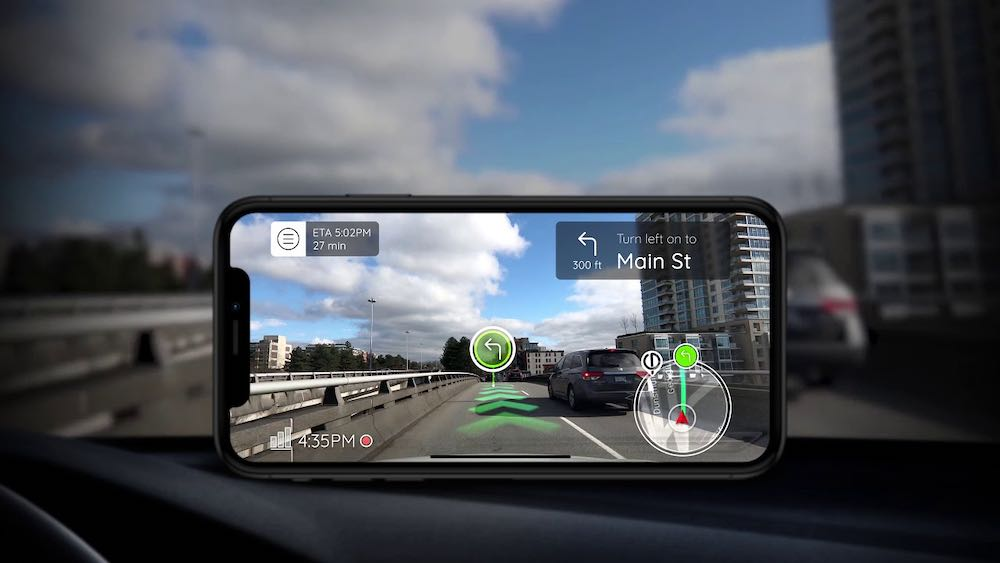 Phiar: Smartphone-AR-Navigation für Autofahrer startet in die Beta