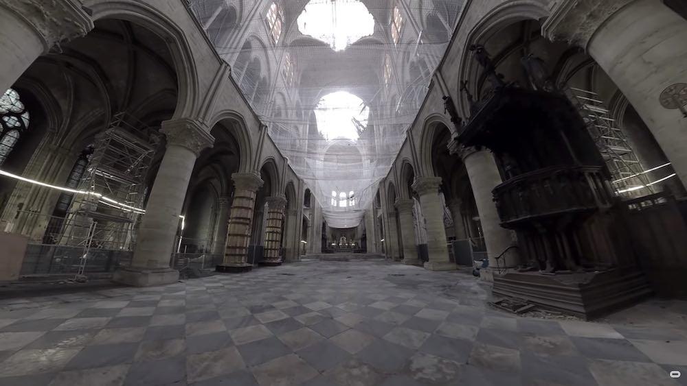 Oculus Quest: Besucht Notre-Dame nach der Brandkatastrophe
