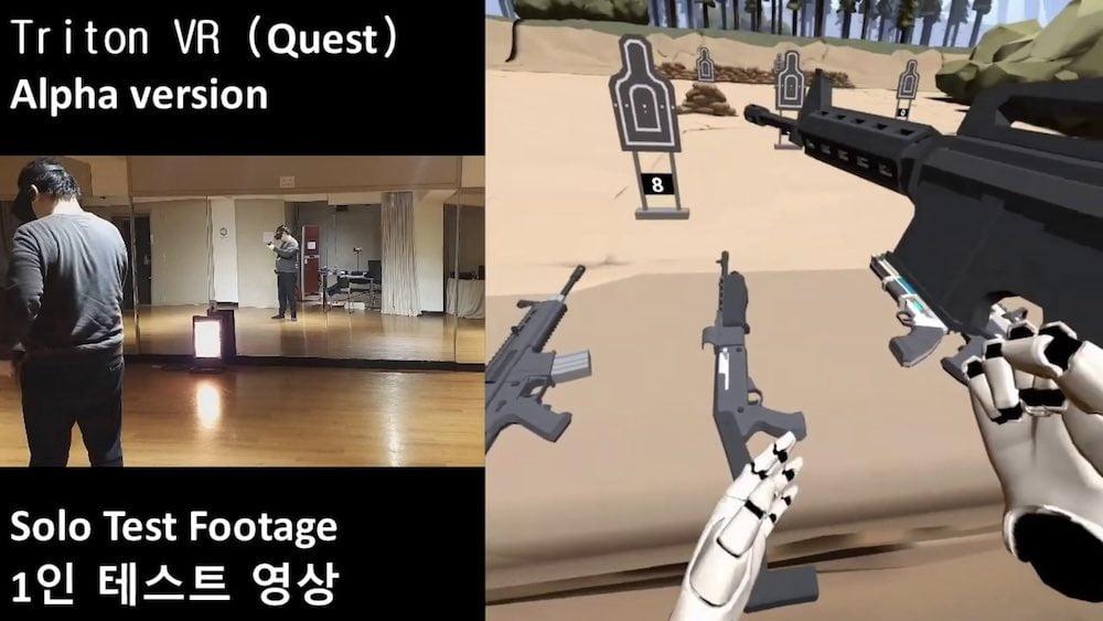 Mit Triton VR ist ein Spiel erschienen, das lokales Multi-Quest-Tracking ermöglicht.