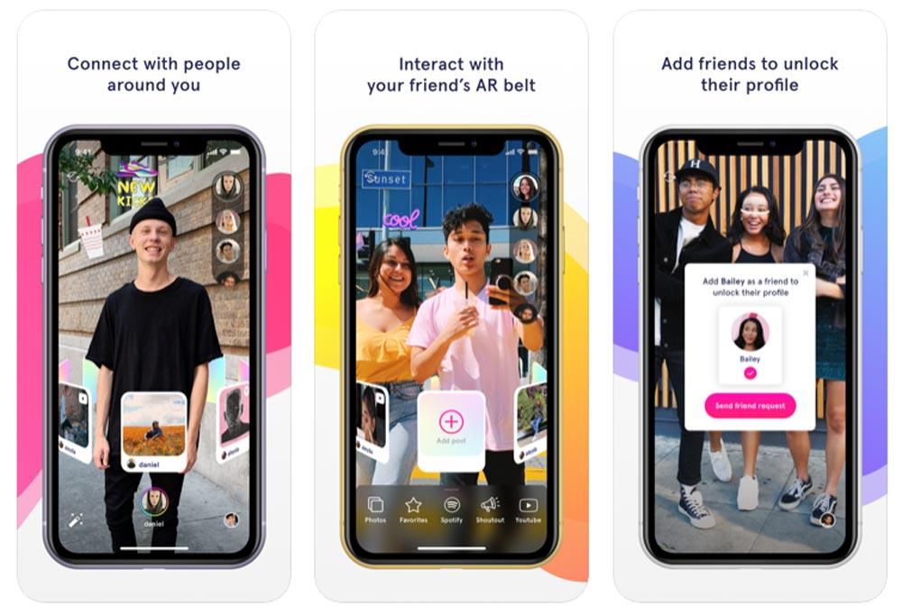 Das Startup Octi will ein Social Network rund um Begegnung und Augmented Reality aufbauen. Bild: Octi