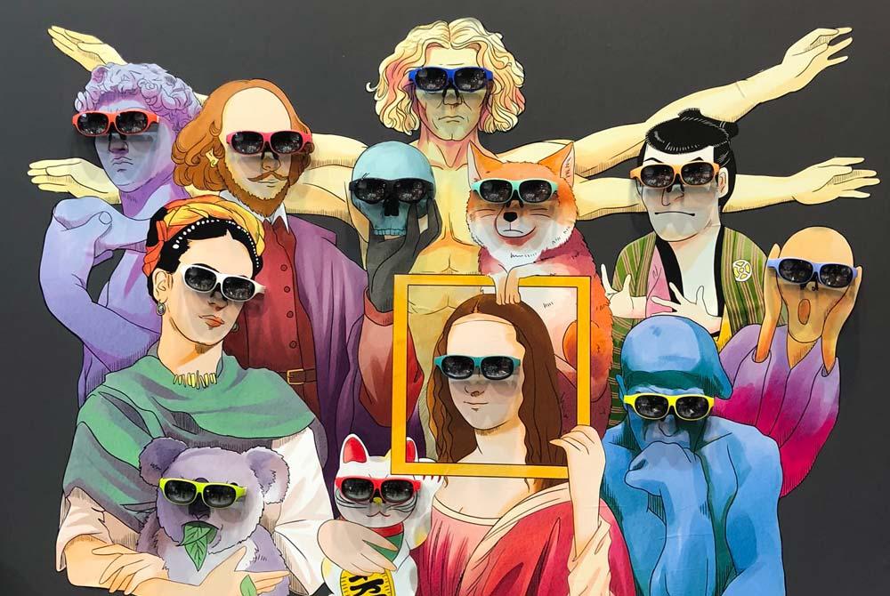 Nreal: AR-Brille bekommt Eye-Tracking und 3D-Betriebssystem