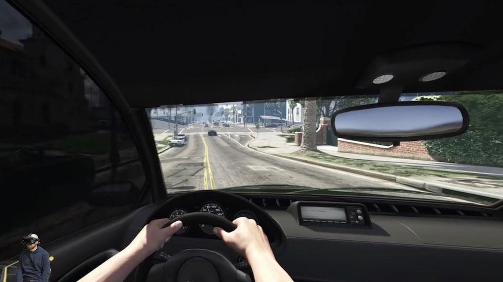 Diese Woche testete ich einen VR-Mod für Grand Theft Auto V. Der Selbstversuch endete nicht gut.