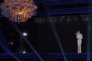 Whitney Houston Hologram Header