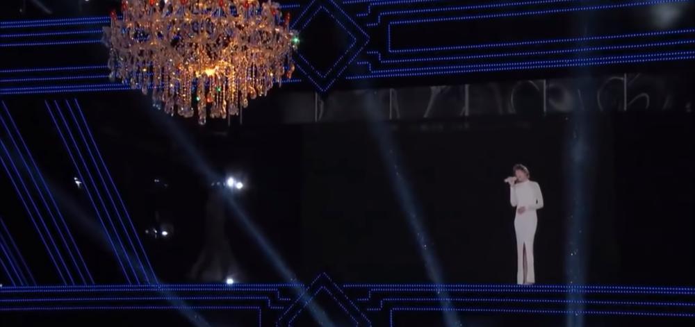 Whitney Houston Hologram Header