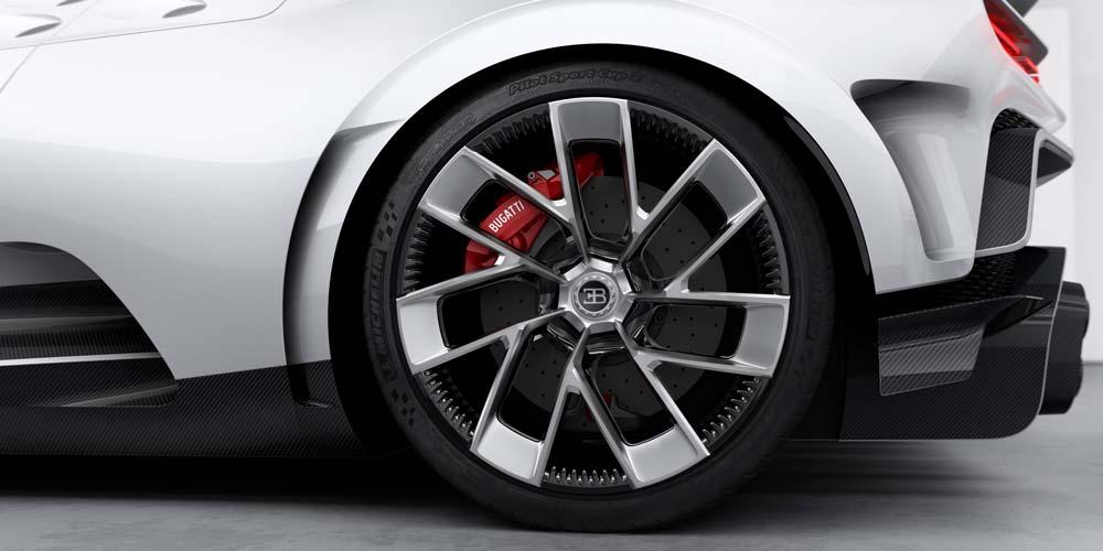 In VR können Auto-Designer selbst feine Elemente des Designs gemeinsam in 3D betrachten, besprechen und in Echtzeit anpassen. Bild: Bugatti