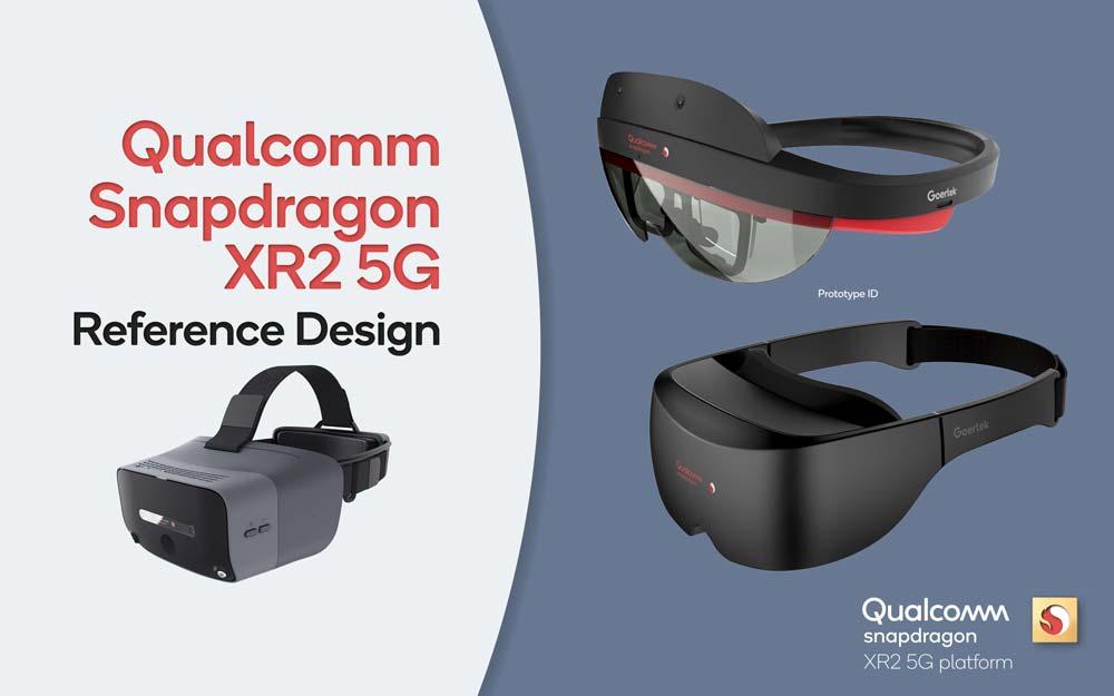 Das Hand- und Fingertracking von Ultraleap wird standardmäßig in Qualcomms Referenzbrillen für den XR2-Chip integriert. | Bild: Qualcomm