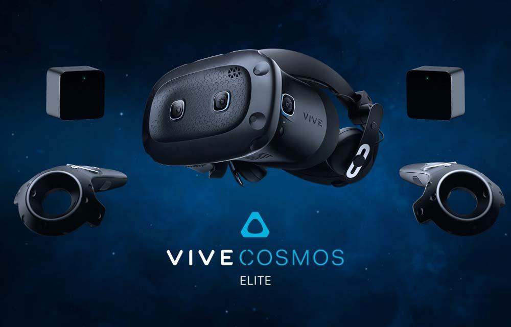 HTCs VR-Brille für Hardcore-Gamer Vive Cosmos Elite kann ab sofort vorbestellt werden.