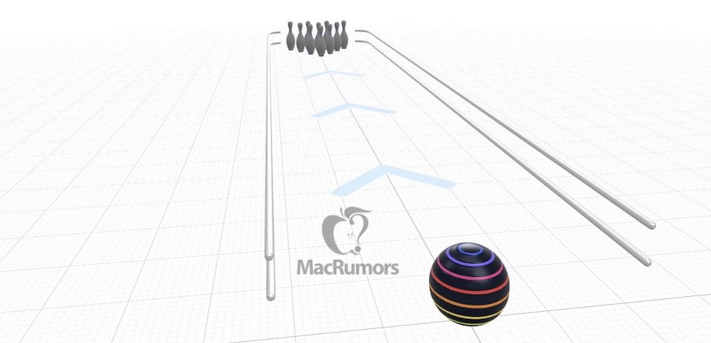 Apple AR Bowling