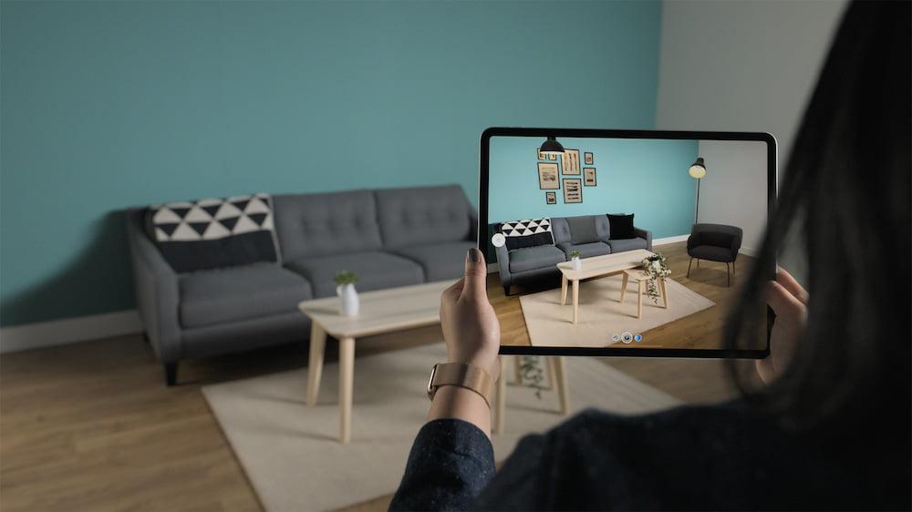 Das kommende iPad Pro erscheint mit einem LIDAR-Scanner, der neue AR-Anwendungsszenarien erlaubt.