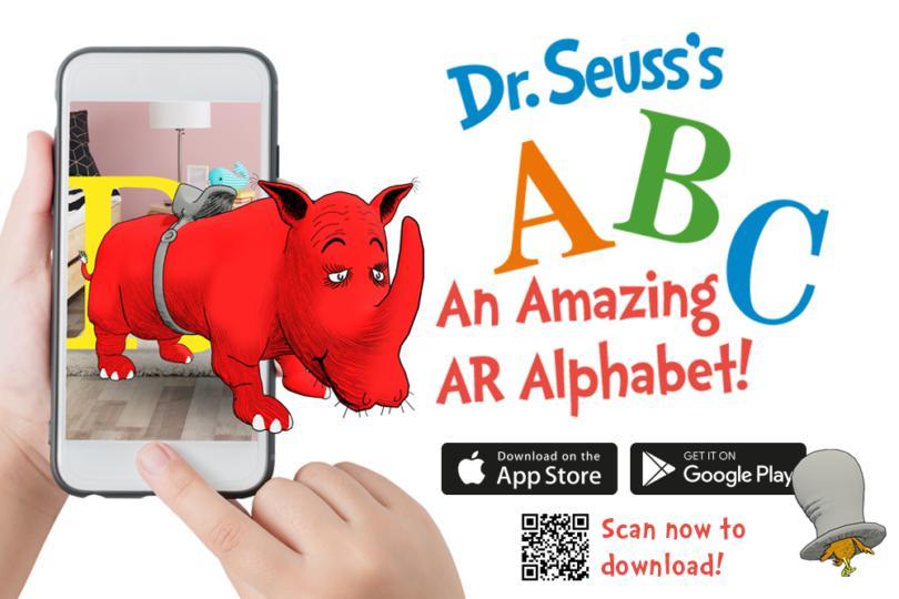 Dr. Seuss's ABC An Amazing AR Alphabet!