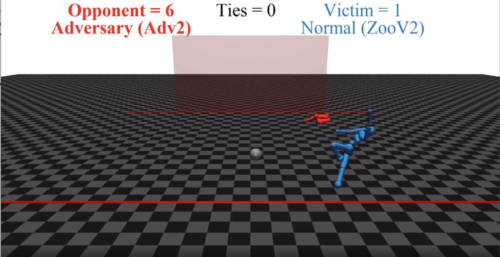 Wie ein zappelnder Torwart eine KI-Schwachstelle offenbart