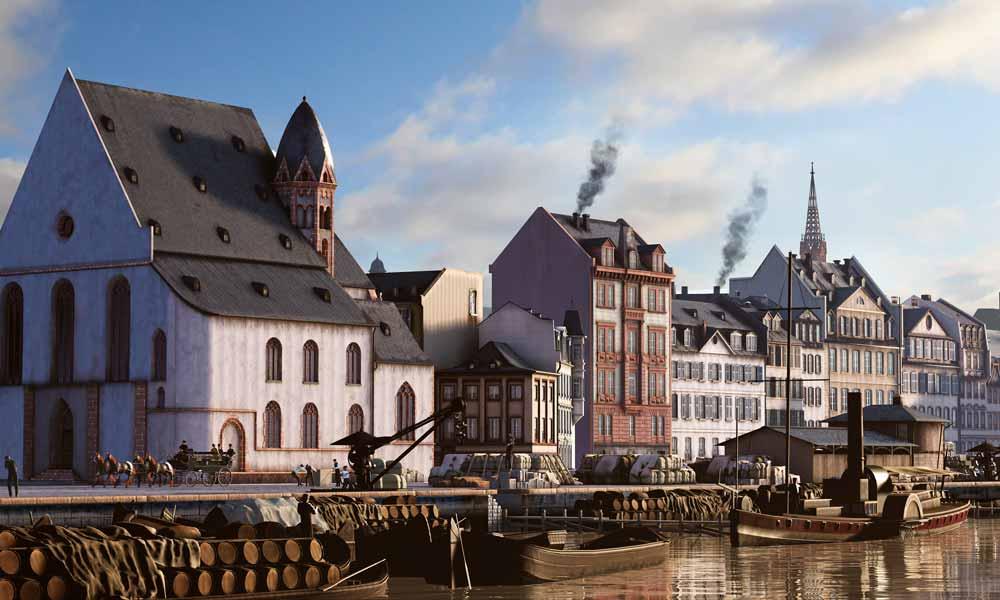 Timeride: Virtuelle Zeitreise-Attraktion startet in Frankfurt am Main