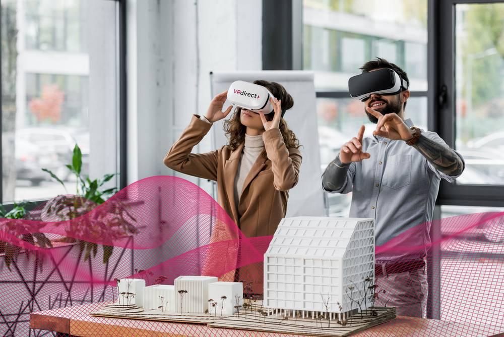 Virtual Reality im Unternehmen nutzen? Geht ganz einfach mit VRdirect Studio!