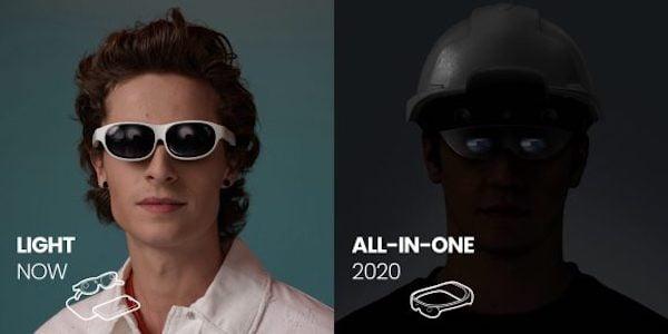 Nreal will eine Konkurrenz-Brille zu Hololens 2 und Magic Leap 1 ins Rennen schicken.