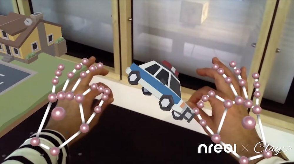 Nreal Handtracking