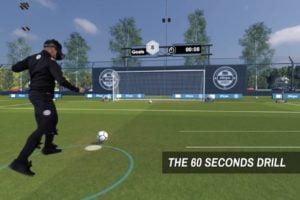 Um fit zu bleiben und ihre Technik zu erhalten, trainieren Profis der Premier League in der VR.