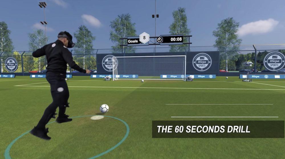 """Fußball-Profis trainieren in VR: """"Wie ein vollimmersives FIFA"""""""