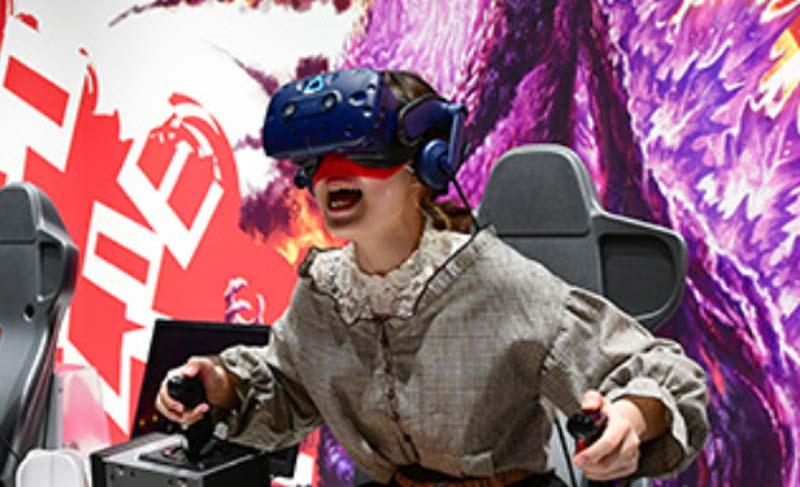 Bandai Namco beachtet in seinen VR-Spielhallen bereits gängige Hygienestandards, schließt aber wegen COVID-19 dennoch vorsichtshalber die Tore - zumindest temporär. Bild: Bandai Namco