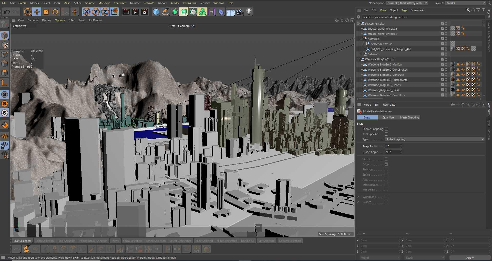 Entstehung der VR-Szenerie von Orfeo ed Euridice