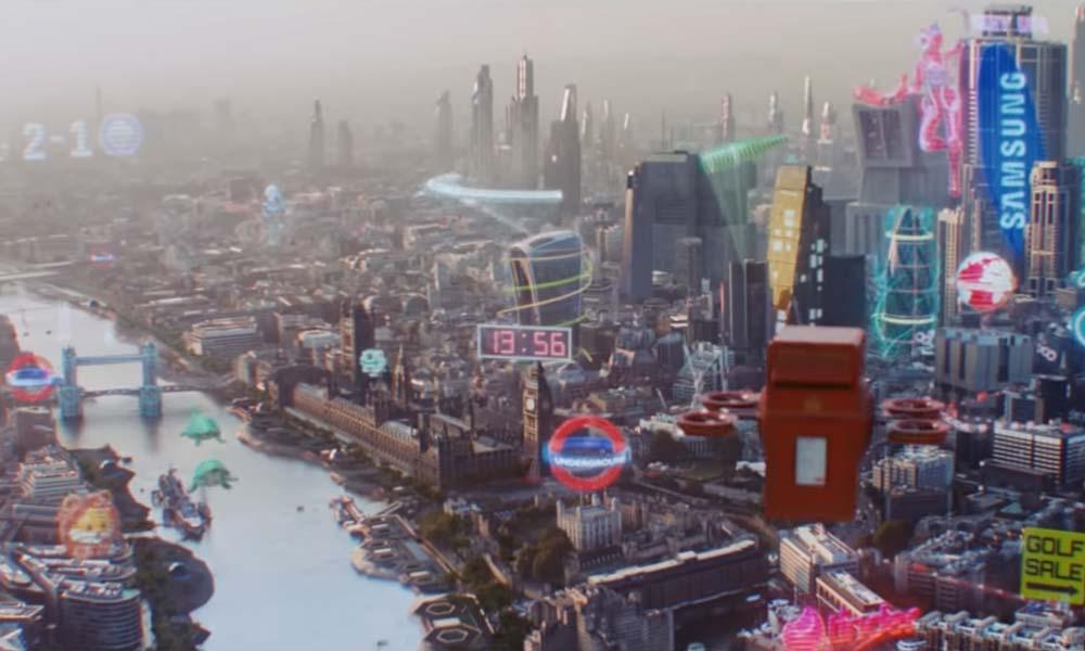 Spektakuläre 5G-Vision: Die Zukunft ist knallbunt und digital