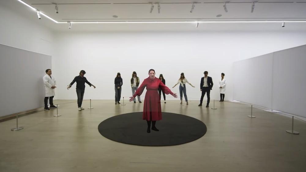Die Performance-Künstlerin Marina Abramović will dank Mixed Reality in alle Ewigkeit präsent bleiben.