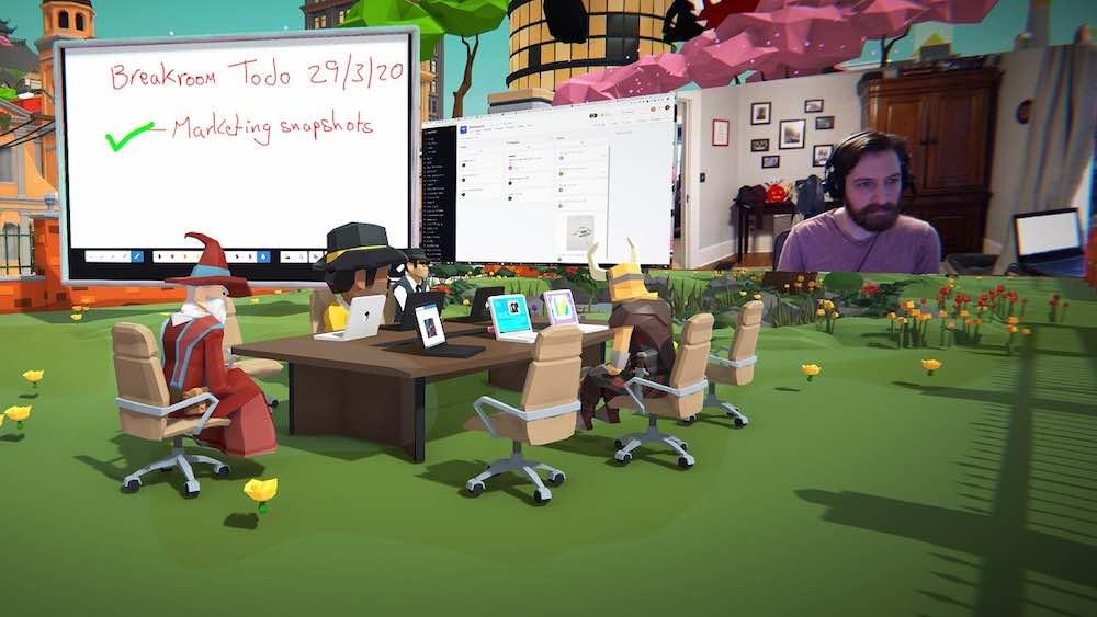 Breakroom: Team-App für Virtual Reality, PC, Mac und mobile Geräte startet