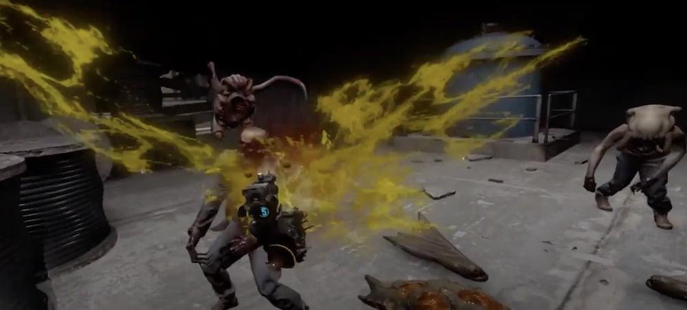 Eine Mod für Half-Life: Alyx erweitert das Spiel um ein neues Gebiet samt Hordenmodus.