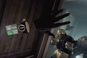 Den VR-Fitnesstracker des Start-Ups YUR könnt ihr nun an eurem virtuellen Handgelenk tragen.