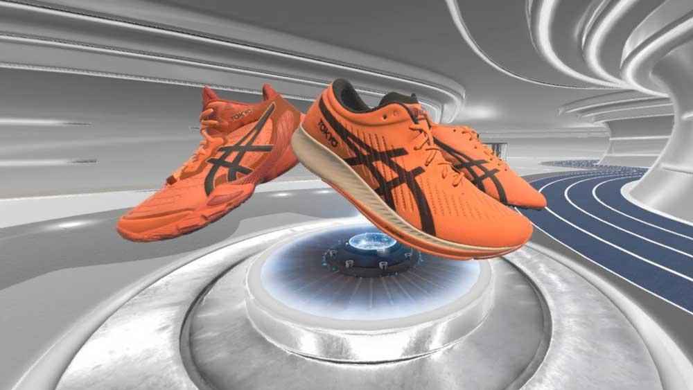 So enthüllte Asics neue Schuhe in Virtual Reality