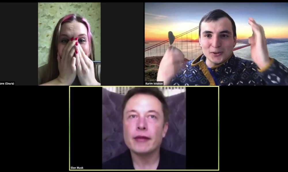 Und plötzlich ist als Überraschungast Elon Musk in eurer Zoom-Session. Wie das geht? Mit Echtzeit-Deepfakes.