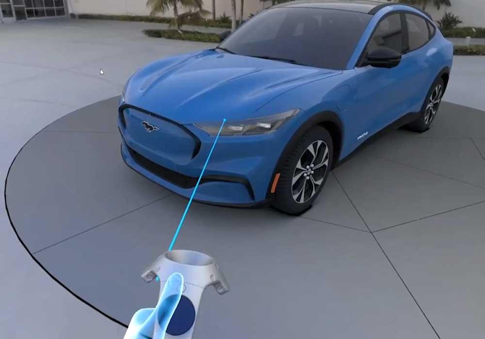 Die Corona-Krise beschleunigt bei Ford den Einsatz von VR-Technologie: Sie wird jetzt auch im Homeoffice genutzt.