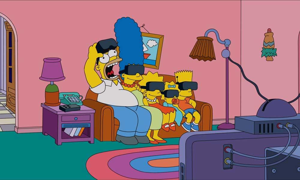 """Auch """"Die Simpsons"""" haben Ausgangssperre und suchen nach Abwechslung vom drögen Couch-Alltag."""