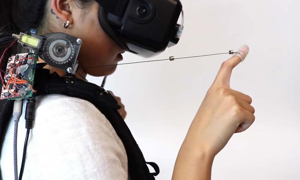 """Fingerfäden: Neues Haptik-VR-System """"Wireality"""" vorgestellt"""