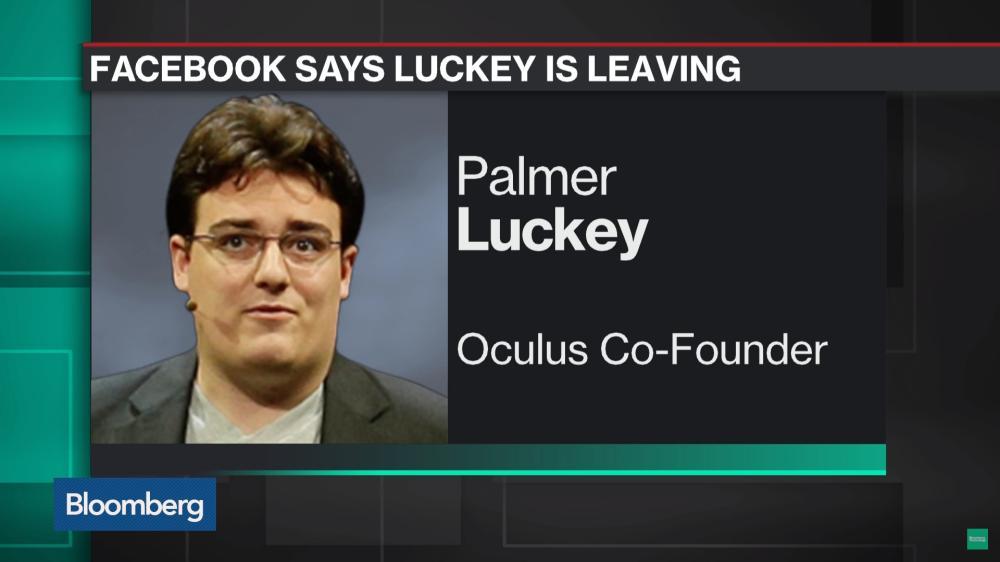 Palmer Luckey in einem Bericht von Bloomberg