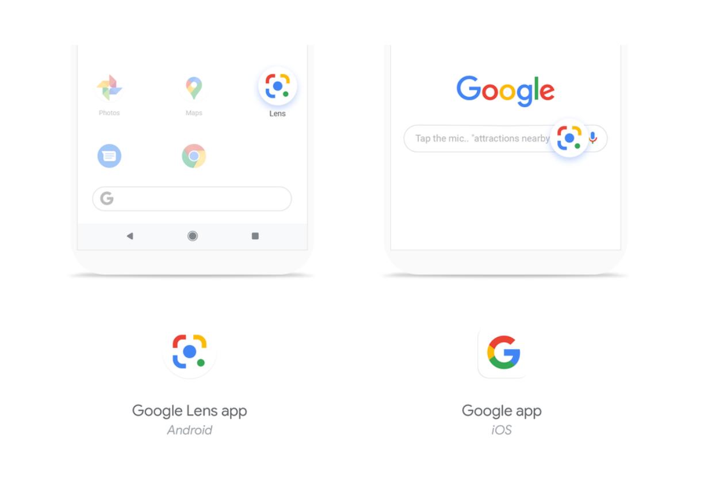Google Lens Android und iOS