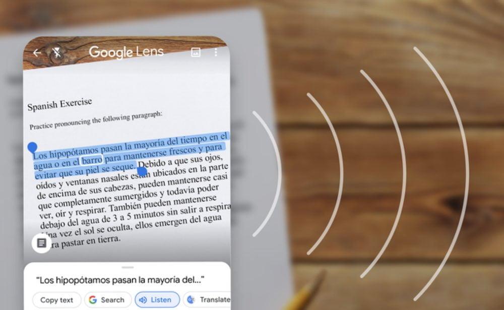 Google Lens Neue Produktivfunktionen