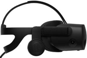 VR-Brille HP Reverb G2 von der Seite